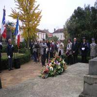 Commémoration centenaire armistice 2018