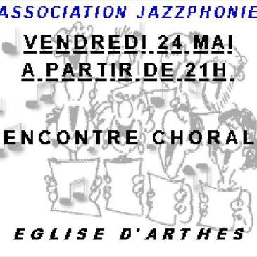 Rencontre chorale proposée par Jazzphonie