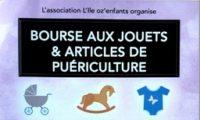 BOURSE AUX JOUETS ET ARTICLES DE PUERICULTURE