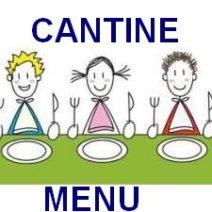 menu de la cantine scolaire, cliquer sur l'assiette !
